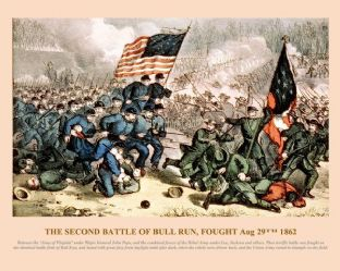 Bull Run - (2nd) fought Aug 29th 1862